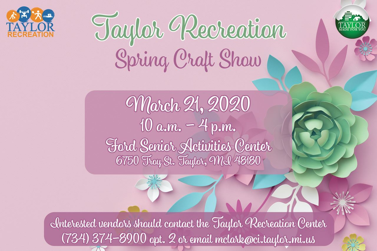 Senior Center Craft Show 2020