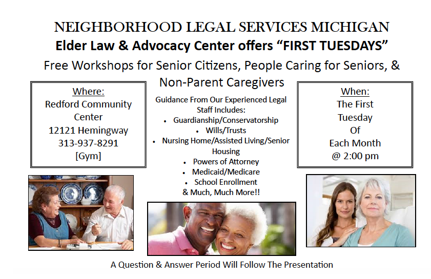 Elder Law flyer